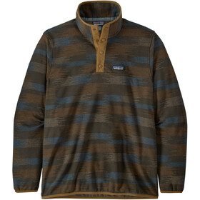 Patagonia Micro D Snap-T Pullover Hombre, native seeds/industrial green